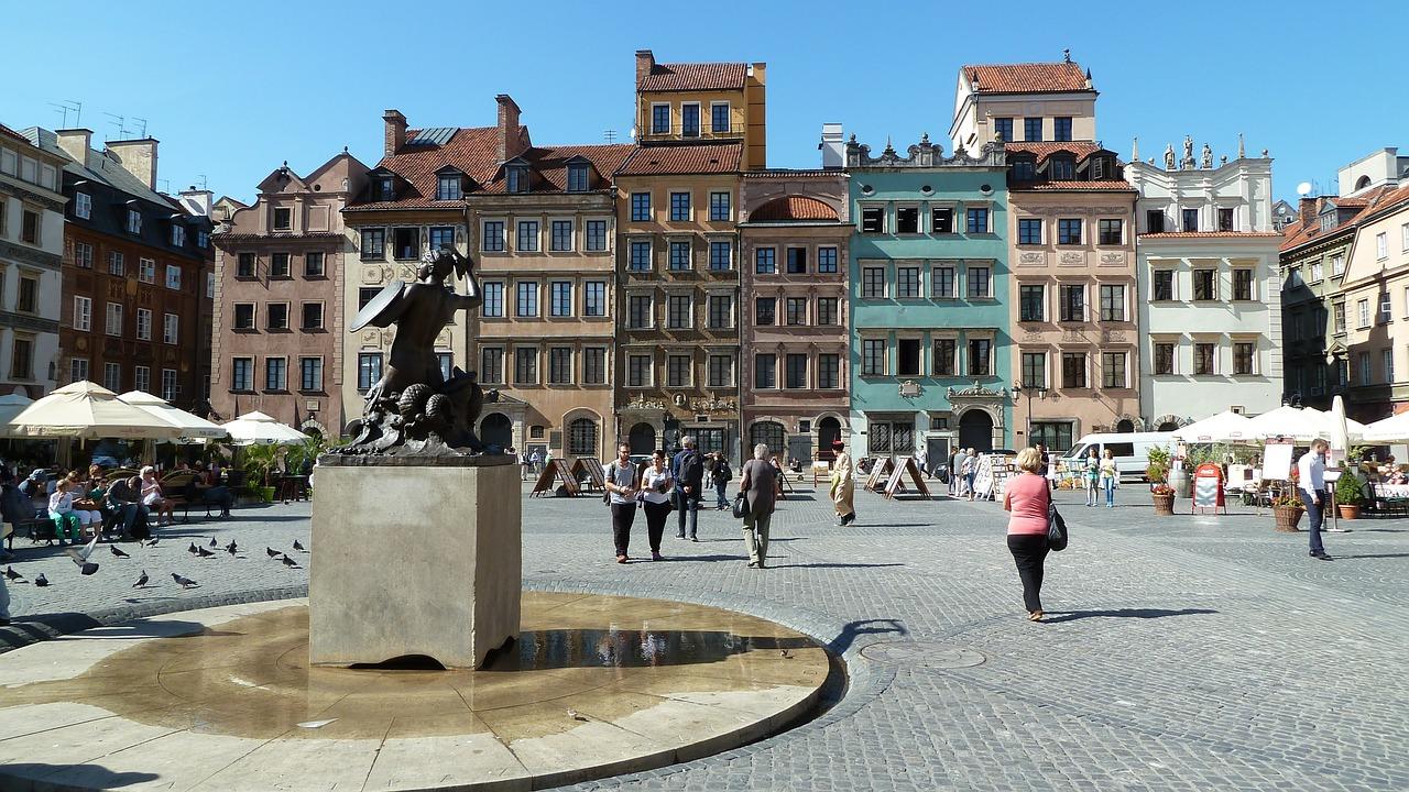 pažintinės kelionės po europa autobusu Lenkija, varšuva (2)